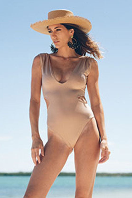 Maria One Piece Swimsuit Nude