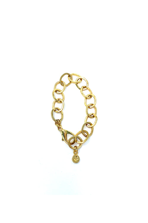 VG Big Chain Bracelet Gold