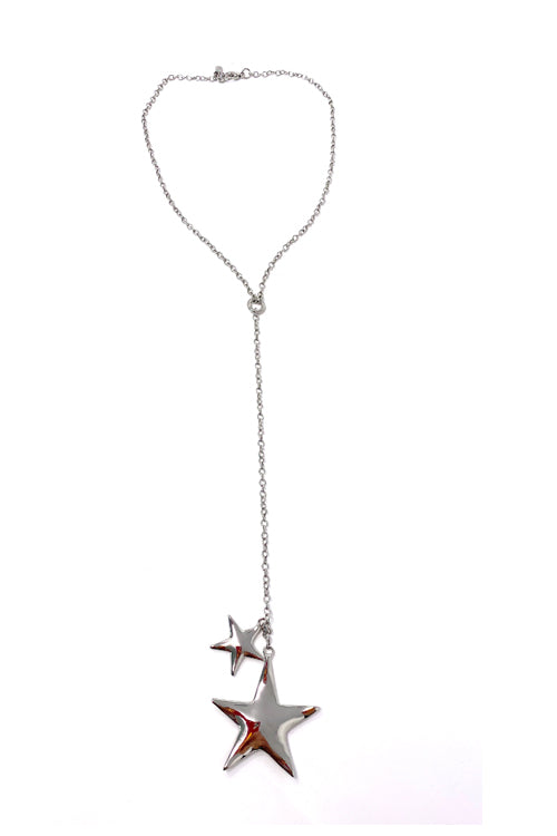 VG Star Necklace Silver