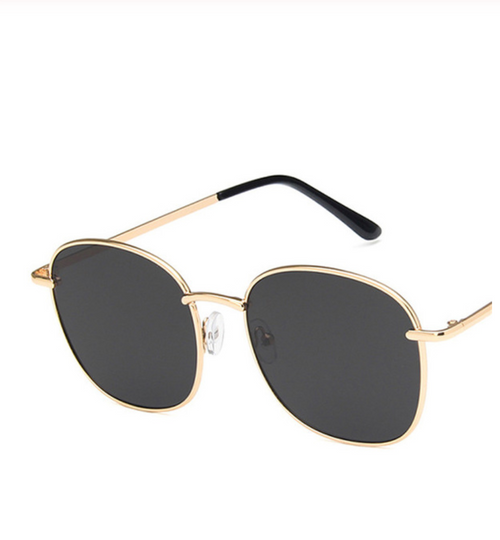 Shop Madda Sunglasses Classic Gold/Brown