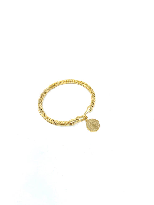 Shop Madda Braceket Coin Gold