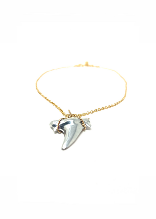 VG Key Necklace Shark Tooth