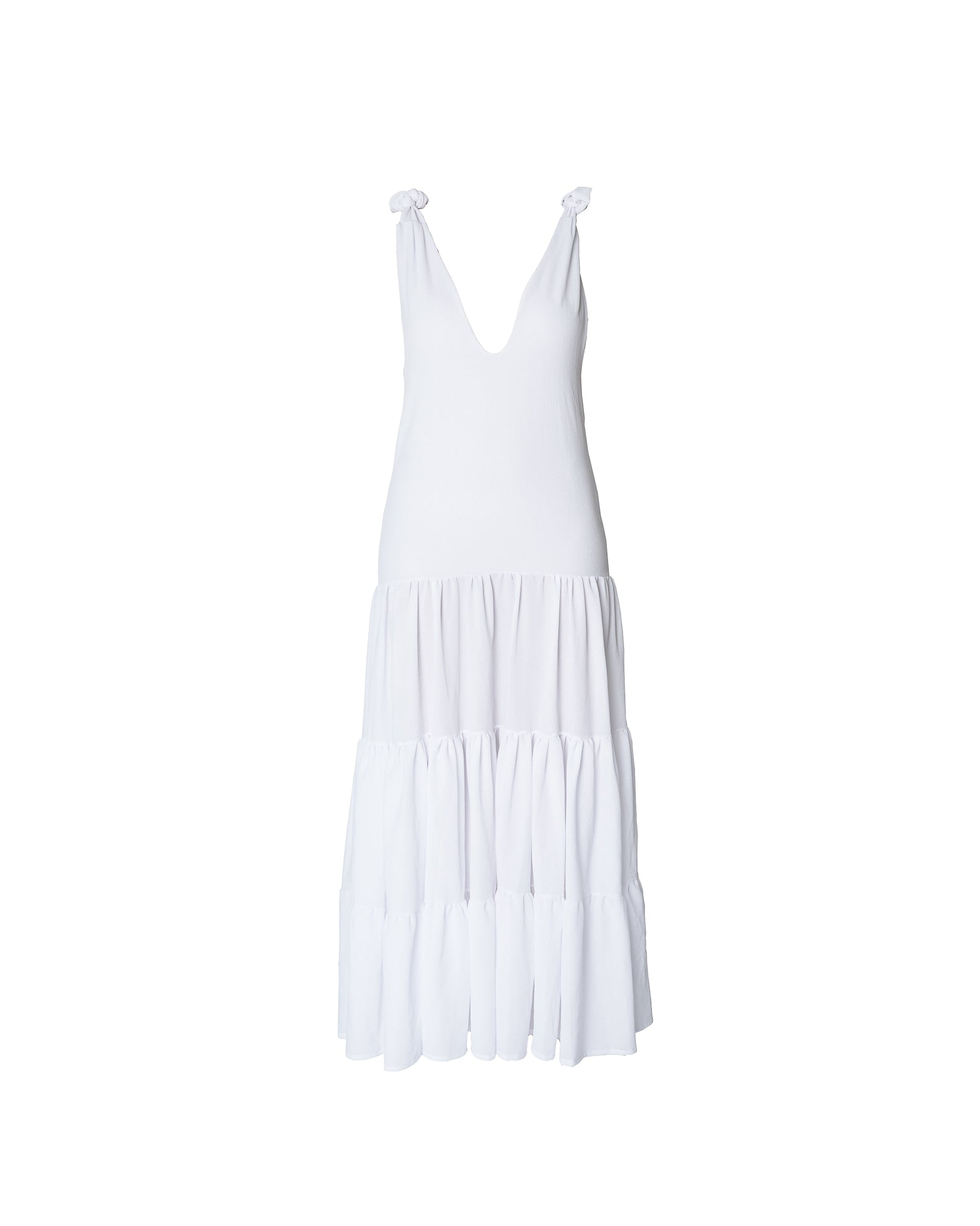 Antigua Dress Macarena White