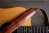 Brown Leather Guitar Strap