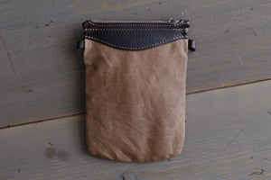 Canvas EDC pouch - OCHRE handcrafted