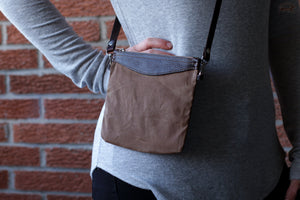 Canvas Over The Shoulder Bag - OCHRE handcrafted