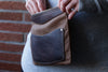 Canvas and Leather organizer - OCHRE handcrafted