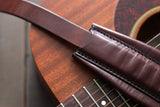 Dark Brown Guitar Strap