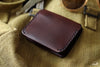 Dark Brown Leather Card Wallet - OCHRE handcrafted