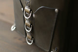 Green Bag with Nickel Hardware