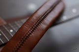 Hand-Stitched Leather Guitar Strap