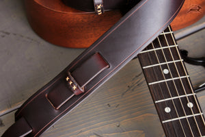 Hand-stitched Guitar Strap