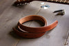 Handcrafted Leather Guitar Strap - THIN style