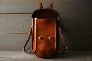 Handcrafted Backpack Leather - OCHRE handcrafted