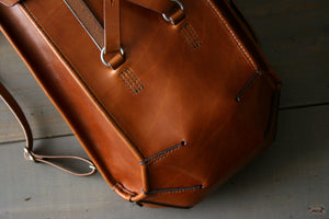 Harness Leather Backpack - OCHRE handcrafted