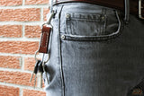 Key Fob Denim Lifestyle - OCHRE handcrafted