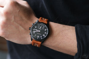 Kronaby Leather Strap