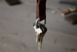 Leather Key Shackle - OCHRE handcrafted
