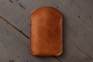 Leather EDC pocket Wallet - OCHRE handcrafted