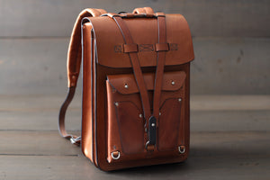 Leather Laptop Bag Handmade - OCHRE handcrafted