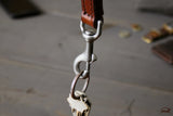 Leather Key Fob Accessory - OCHRE handcrafted