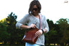 Leather Shoulder Bag - OCHRE handcrafted