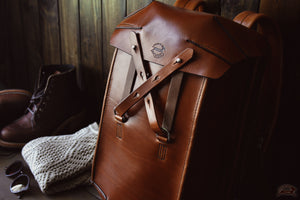 Leather bag boots lifestyle - OCHRE handcrafted