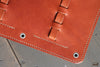 Light Brown Leather Pencil Case - OCHRE handcrafted