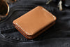 Natural Leather Card Wallet - OCHRE handcrafted
