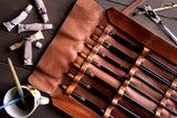Pantbrush Set Leather