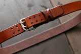 Simple Brown Leather Belt - OCHRE handcrafted