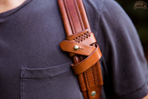 Stowable sternum strap - OCHRE handcrafted