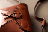 Tan Leather Purse - OCHRE handcrafted