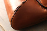 Tan Leather Saddle Bag - OCHRE handcrafted