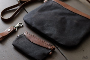 Waxed Canvas Pouches - OCHRE handcrafted