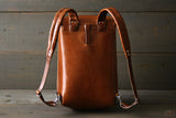 backpack with padded shoulder straps - OCHRE HANDCRAFTED