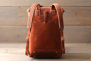 comfortable leather backpack - OCHRE handcrafted