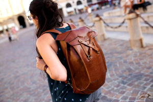 commuter backpack - OCHRE handcrafted