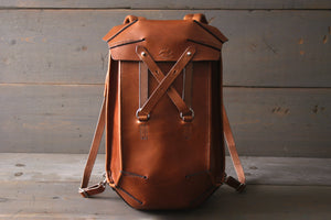 handmade leather backpack - OCHRE handcrafted