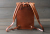 leather bag with padded straps - OCHRE handcrafted