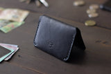 leather edc card wallet - OCHRE handcrafted