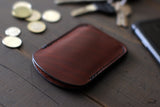 minimalist leather wallet - OCHRE handcrafted