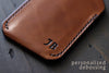 personalized leather wallet - OCHRE handcrafted