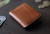 tan leather wallet - OCHRE handcrafted