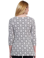Amour Knit Jersey Bon Bon Tunic - Final Sale