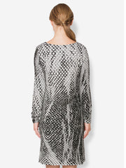 Coquil French Knit LS Ballet Dress - Final Sale