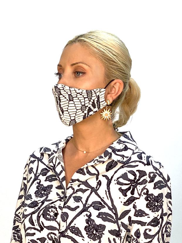 "Fashion Face Masks ""Limited Edition"" (4 pack assorted prints and fabrics) - Final Sale"