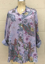 Plus Phelan Washable Silk Loving Blouse
