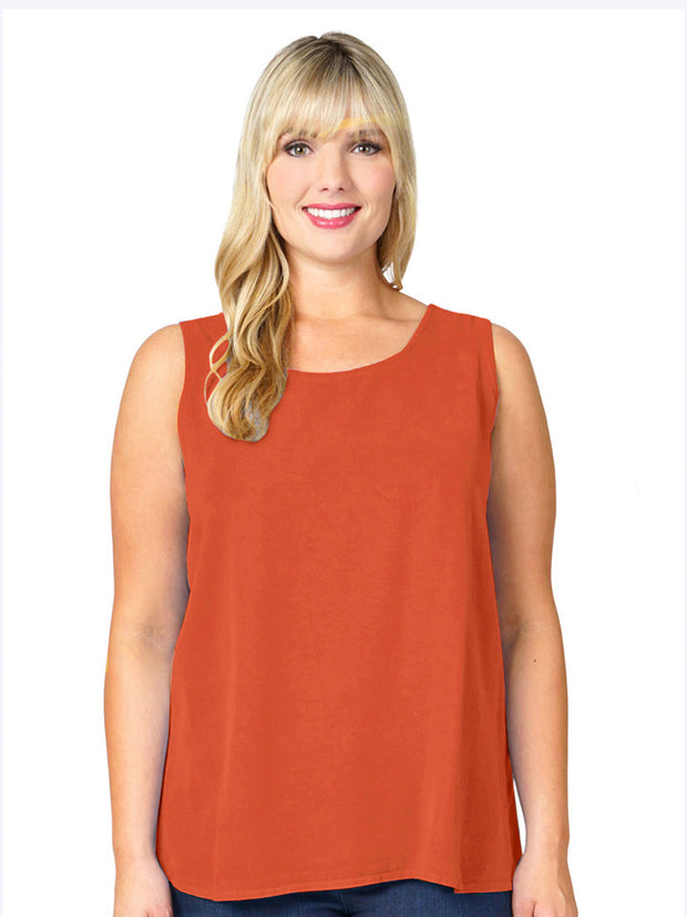 Plus Tencel Long Tank