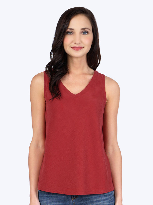 Plus Tencel Erika Bias Tank